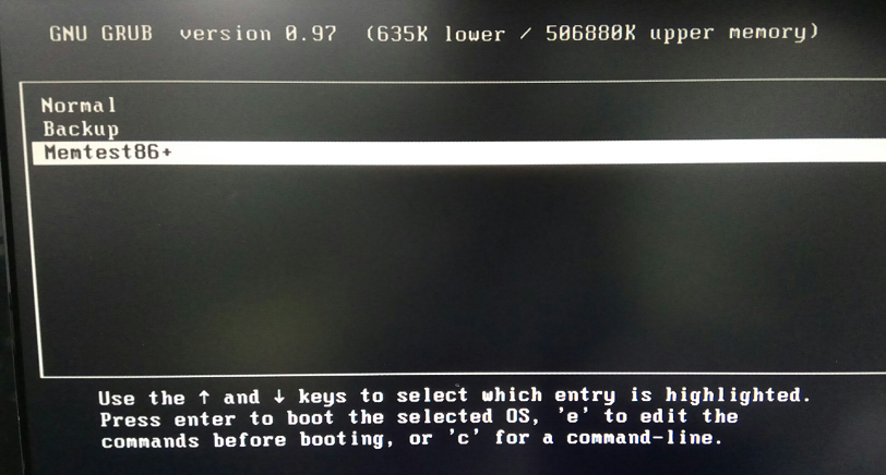 USB boot & memtest86+ - Powered by Kayako Help Desk Software