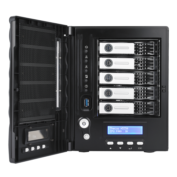 Linux Nas Thecus N5550 Share Your Vision