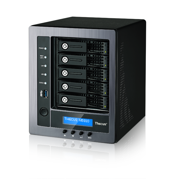 Linux Nas Thecus N5810 High Performance Affordable