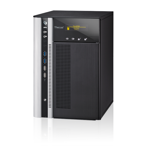 Linux NAS | Thecus TopTower N6850PLUS - Rackmount performance  Tower