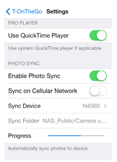 Press Room   Photo Sync Feature Added to Thecus® Mobile App