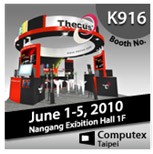 Thecus Computex Booth K916