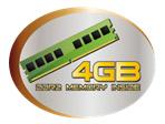 4GB memory